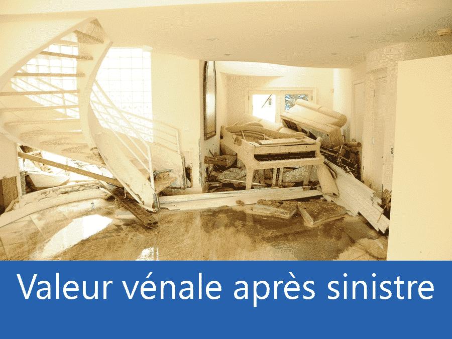 valeur vénale après sinistre Toulouse, valeur dégâts après sinistre 37, avis valeur sinistre Tours,
