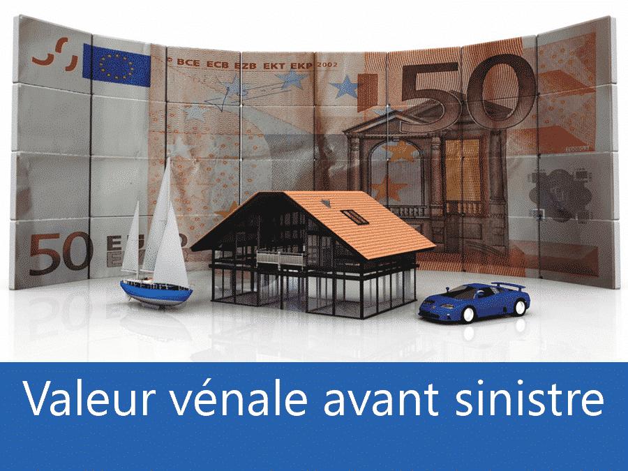 Valeur vénal avant sinistre Toulouse, valeur des biens assurance 37, expert valeur vénale Tours,